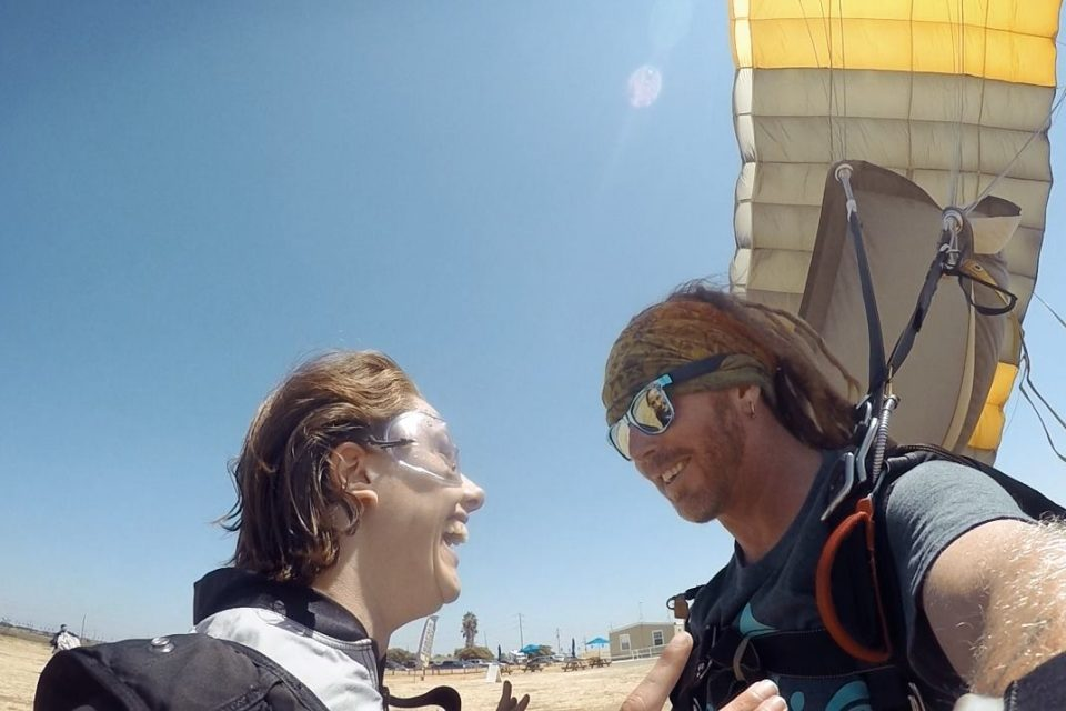 fear of skydiving skydiving tips and advice