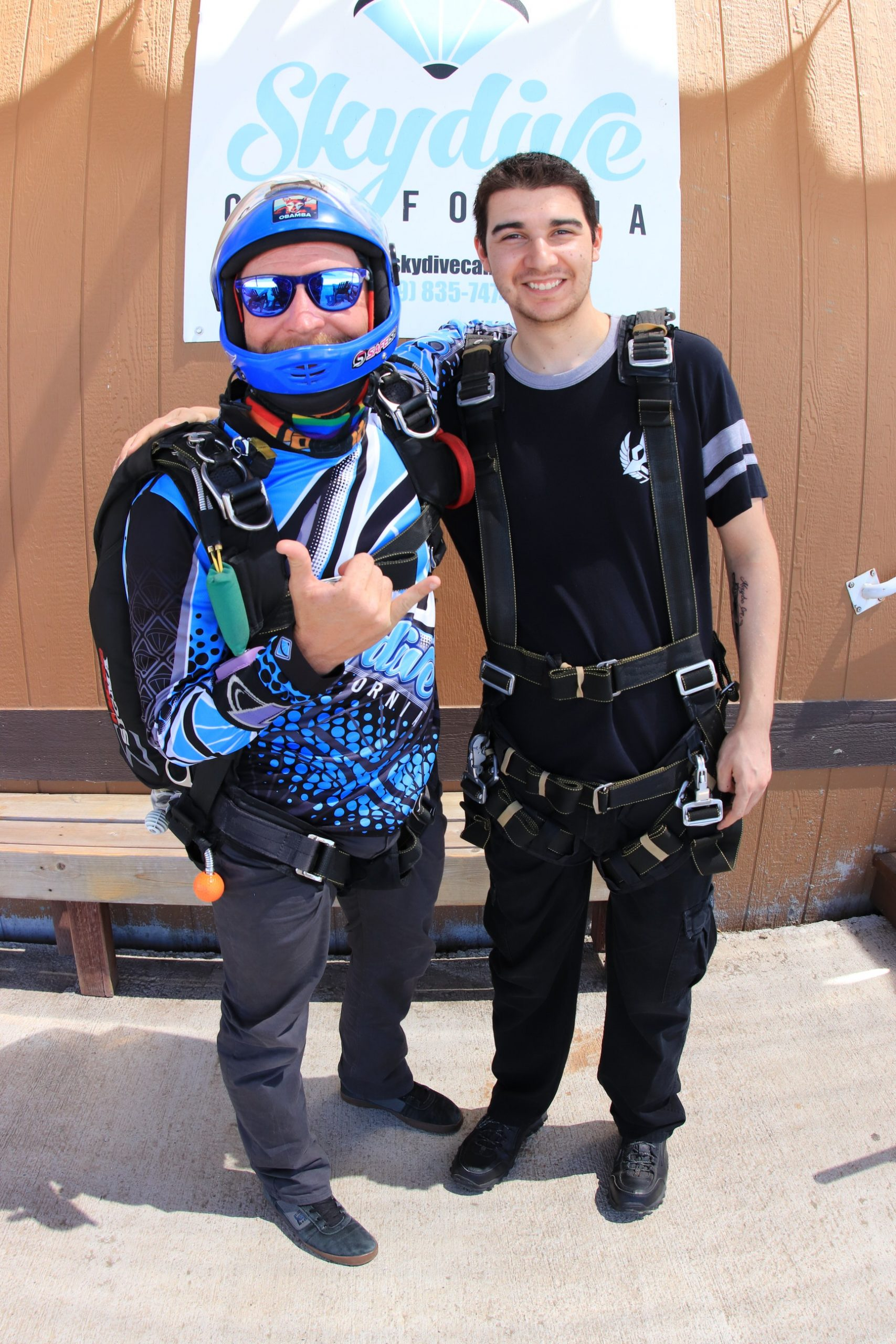 tandem skydiving instructor skydiving experience description