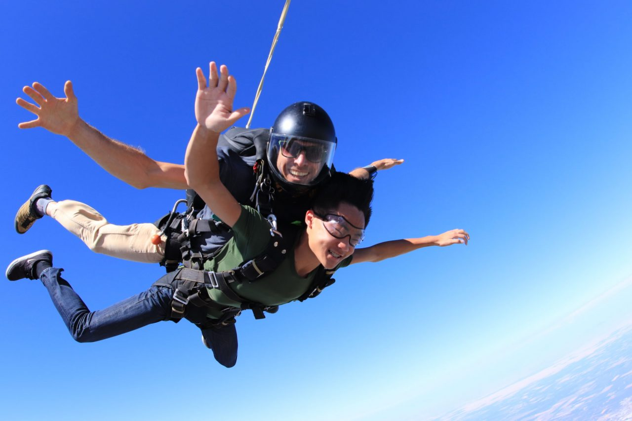 skydiving tips become goal oriented person life changing experience best experience skydiving