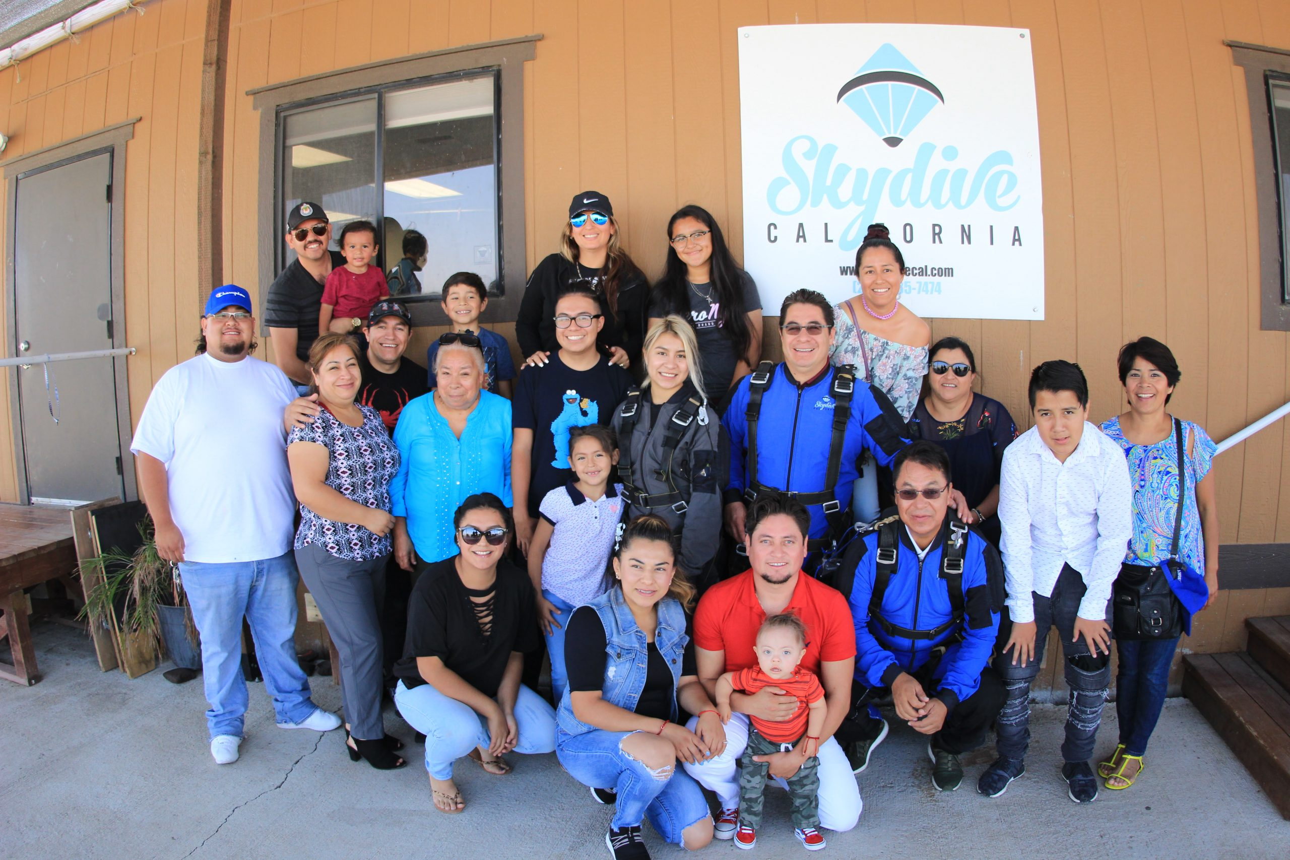 Building Community with Skydiving   Skydive California
