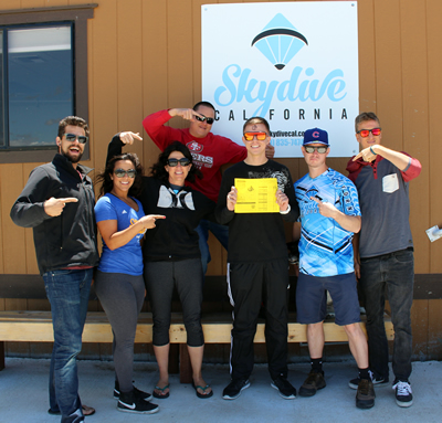 is skydiving safe skydive california