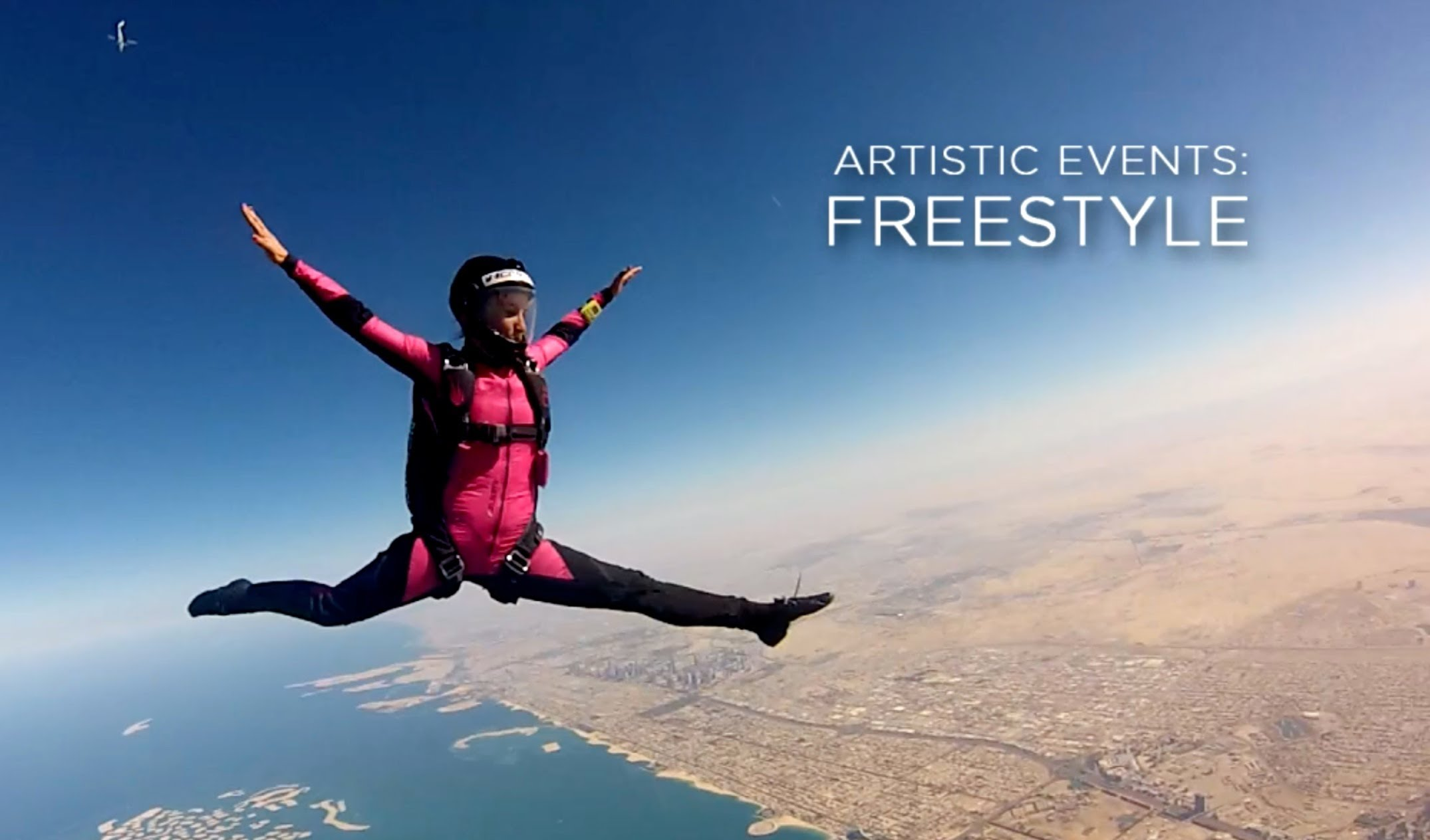 freestyle skydiving