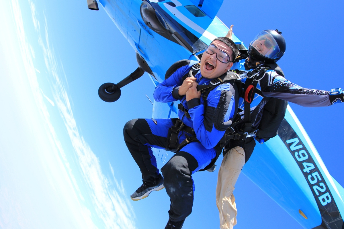 skydiving altitude experience gifts in california skydive california