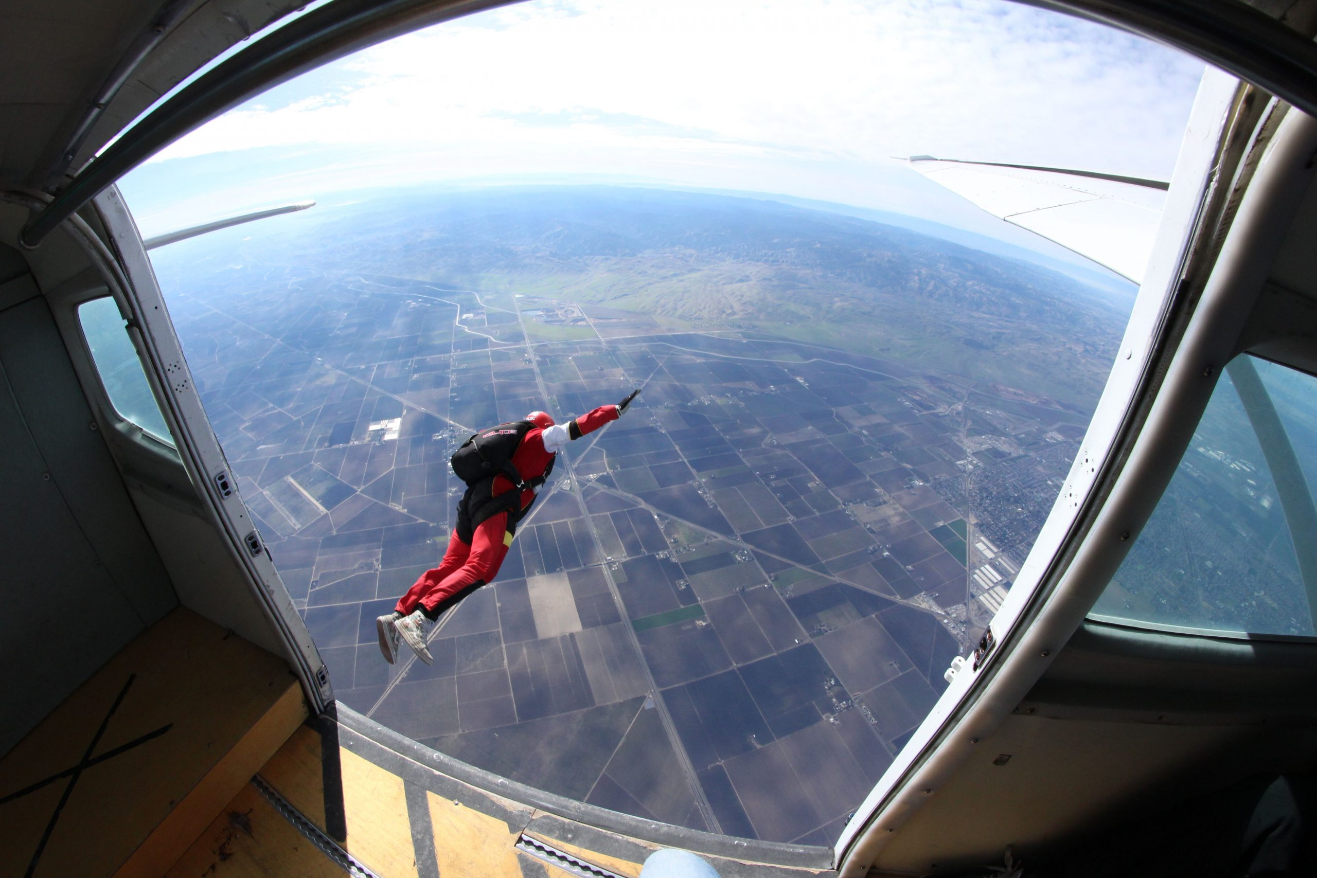 how long do you freefall when skydiving hop n pop skydiving