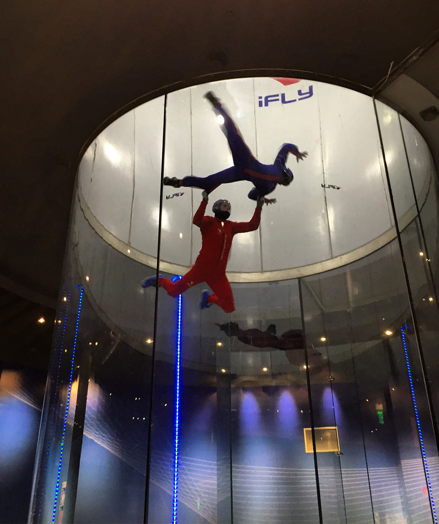 outdoor skydiving vs indoor skydiving