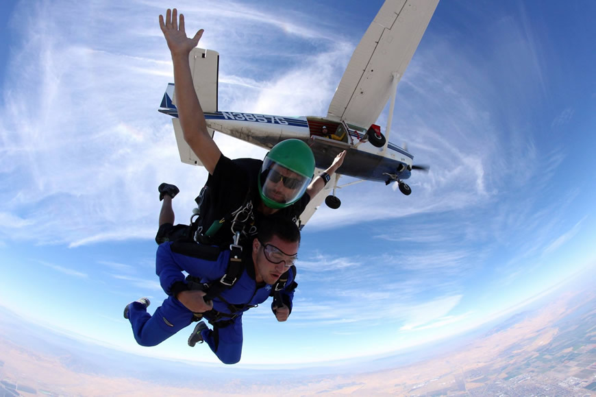 How Much Does It Cost to Go Skydiving in California ...