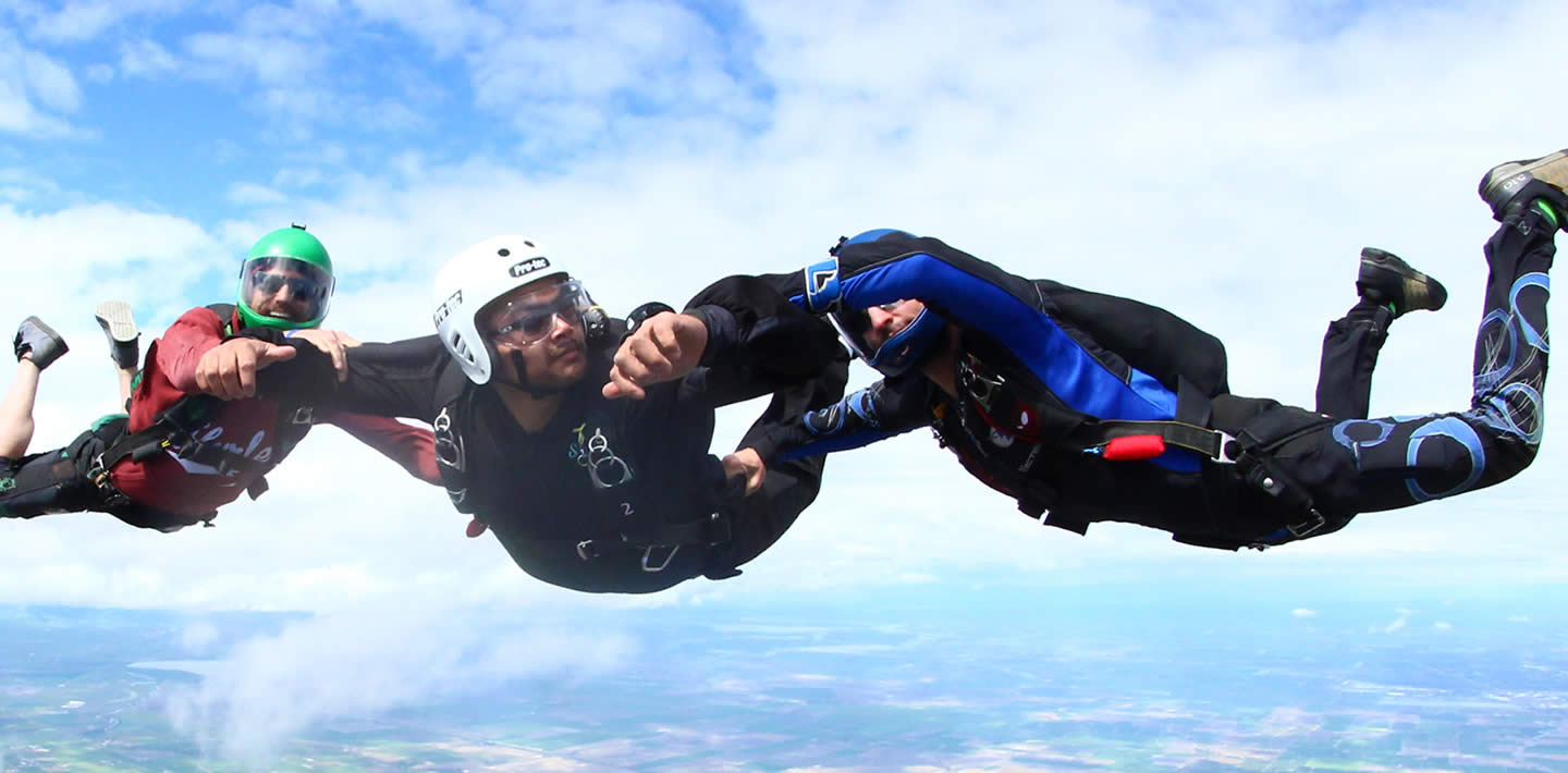 accelerated freefall aff learn to skydive california