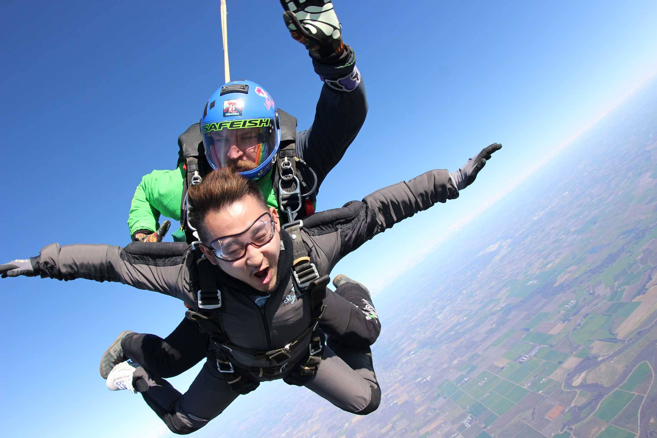 Skydiving When It's Hot | Skydive California
